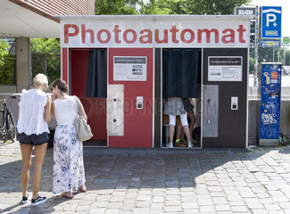 Photoautomat Photographiere Dich selbst!