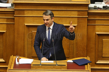 GREECE-ATHENS-GOVERNMENT-CONFIDENCE VOTE-WINNING