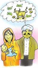 Indien Familie