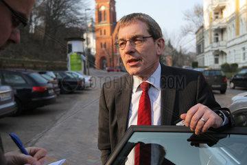 Flensburg  Deutschland  parteilose Dr. Joern Klimant ist Landrat vom Kreis Dithmarschen