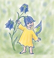 Glockenblumen Elfe