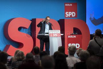 Michael Mueller - Parteitag SPD Berlin