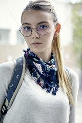 Female student  portrait