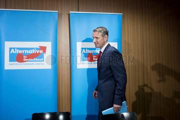 Bjoern Hoecke  AfD - PK pension concept
