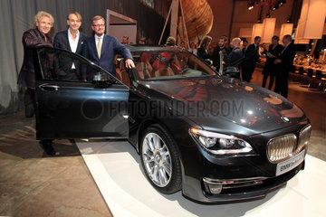 Flensburg  Deutschland  Luxuslimousine BMW Individual 760Li Sterling inspired by Robbe and Berking