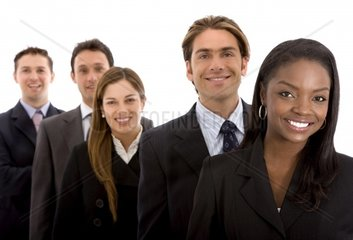 Business office team workall young and successful businessmen and businesswomen