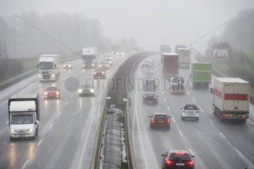 Autobahn A2 bei Oelde
