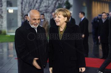 Ghani + Merkel