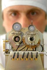 Kiel  Deutschland  das Instrument SEPT (Solar Electron and Proton Telescope)