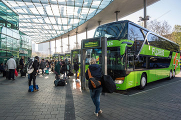 Flixbus Abfahrt Hamburg