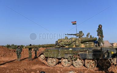 SYRIA-MANBIJ-ARMY-DEPLOYMENT