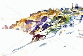 Griechenland Santorini Serie