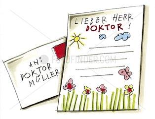 Kinderbrief an Doktor