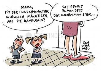 Asylstreit: Merkel und Seehofer