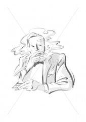 Serie Pokertypen Der Stratege Raucher