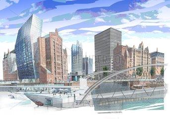 Grossstadt der Zukunft