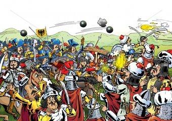 Kampf - Serie Mittelalter