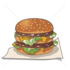 Burger Serie Food
