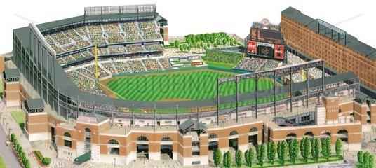 Camden yards - Baseballstadion