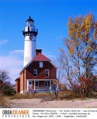 Au Sable Lighthouse  Michigan