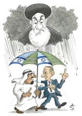 Abdullah und Olmert