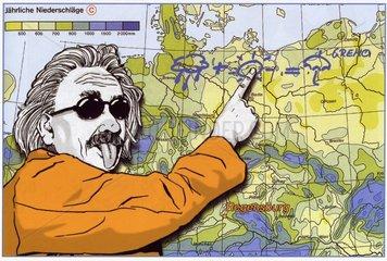 Albert Einstein und das Wetter