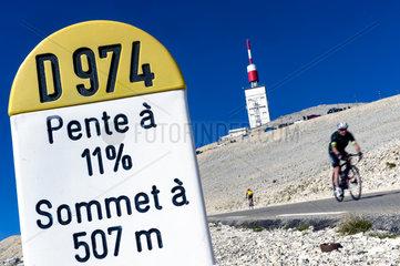 FRANCE - MONT VENTOUX MOUNT