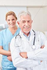 Erfolgreicher und selbstbewusster Chefarzt