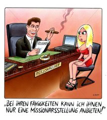 Personalchef Cartoon