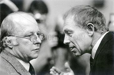 Norbert Bluem  Heiner Geissler  1986