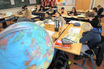 Flensburg  Deutschland  Weltkundeunterricht