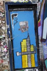 change Street art in London