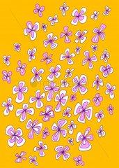 Blueten schwebend Blumen
