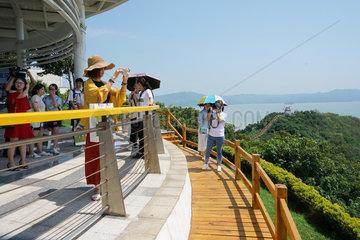 CHINA-FUJIAN-FUZHOU-NUCLEAR POWER PLANT-TOURISM(CN)