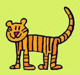 Tiger Tigerkatze Kaetzchen lieb