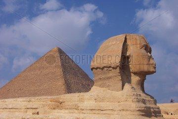 _gypten Gizeh Sphinx Chefren Pyramide