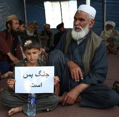 AFGHANISTAN-KABUL-PEACE-RALLY