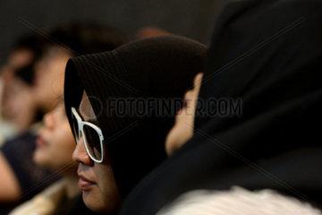 INDONESIA-JAKARTA-WATCHING MOVIE-BLIND PEOPLE