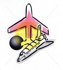 Serie Logos Raumfahrt