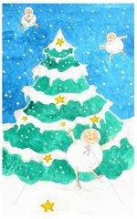 Weihnachten Schneefloeckchen