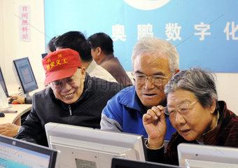China  Tages-Pflegeheim fuer Senioren