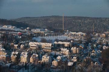 Schneeberg  Deutschland  Lichtelfest in Schneeberg