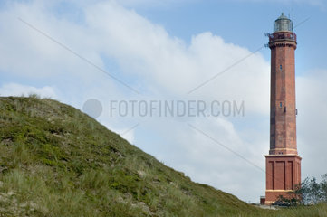 Norderney  Deutschland  Leuchtturm von Norderney