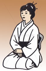 Japanerin / Geisha