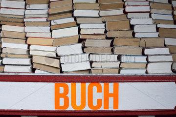 Berlin  Buecherstapel