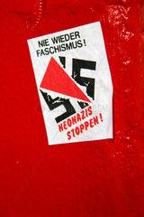 Berlin - Antifa Aufkleber