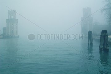 Venedig Arsenal Einfahrt