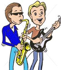 2 Musiker