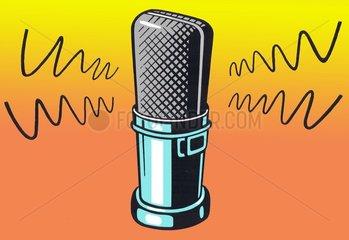 Mikrofon freigestellt