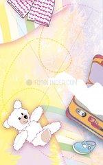 Koffer Kinder Teddy Reise